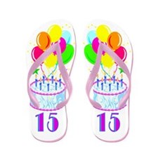 DELIGHTFUL 15TH Flip Flops