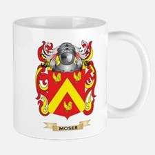 Moser Coat of Arms - Family Crest Mugs