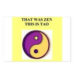 zen buddhist gifts and t0shir Postcards (Package o