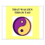 zen buddhist gifts and t0shir Small Poster