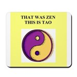 zen buddhist gifts and t0shir Mousepad