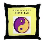 zen buddhist gifts and t0shir Throw Pillow