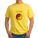 zen buddhist gifts and t0shir Yellow T-Shirt