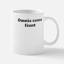 Omnia causa fiunt Mugs