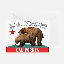 Hollywood Calipornia Greeting Card