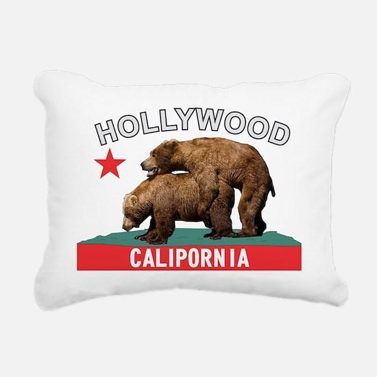 Hollywood Calipornia Rectangular Canvas Pillow