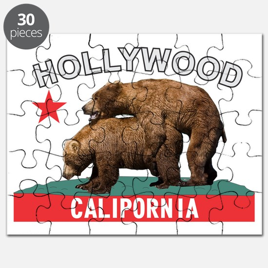 Hollywood Calipornia Puzzle