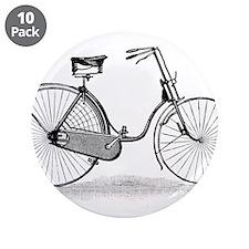 "Vintage Bike 3.5"" Button (10 pack)"