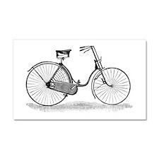 Vintage Bike Car Magnet 20 x 12