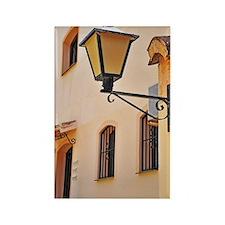 Street lamp post Rectangle Magnet