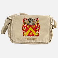 Moshe Coat of Arms - Family Crest Messenger Bag