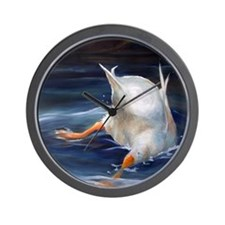 Duck Butt Wall Clock