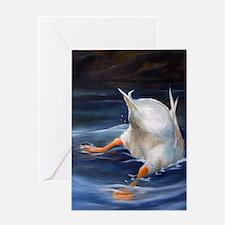 Duck Butt Greeting Card