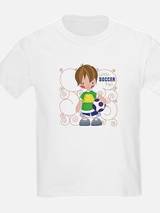 Little Soccer Fan T-Shirt