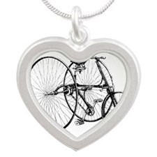 Vintage Trike Bicycle Necklaces