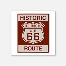 Illinois Route 66 Sticker