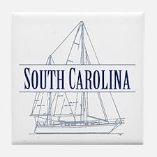 South Carolina - Tile Coaster