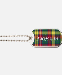 Tartan - Buchanan Dog Tags