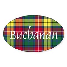 Tartan - Buchanan Decal