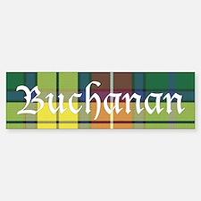 Tartan - Buchanan Bumper Bumper Sticker