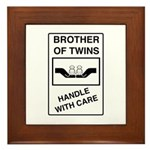 Brother Handle With Care Framed Tile