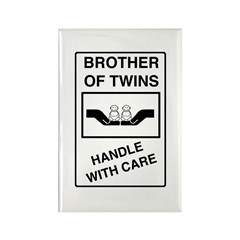 Brother Handle With Care Rectangle Magnet