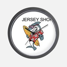 Jersey Shore Wall Clock