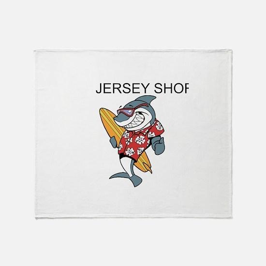 Jersey Shore Throw Blanket