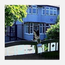 Mendips. John Lennon's Childhood Home Tile Coaster