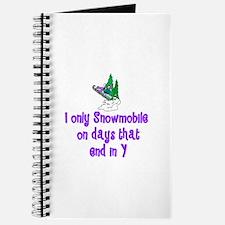 SnowmobileChick Days Journal