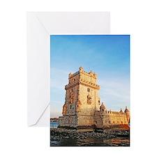 Belem Tower Greeting Card