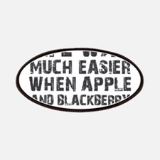 Life was much easier with apple and blackberries P