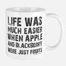 Life was much easier with apple and blackberries M