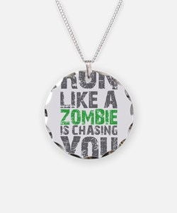 Rul Like A Zombie Is Chasing You Necklace