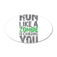 Rul Like A Zombie Is Chasing You Wall Decal