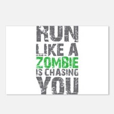 Rul Like A Zombie Is Chasing You Postcards (Packag