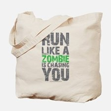 Rul Like A Zombie Is Chasing You Tote Bag
