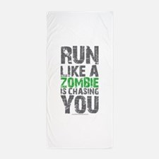 Rul Like A Zombie Is Chasing You Beach Towel