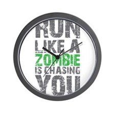 Rul Like A Zombie Is Chasing You Wall Clock