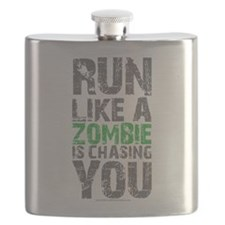 Rul Like A Zombie Is Chasing You Flask
