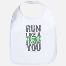 Rul Like A Zombie Is Chasing You Bib