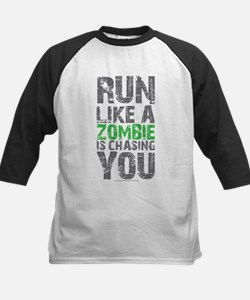 Rul Like A Zombie Is Chasing You Baseball Jersey