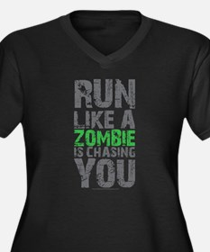 Rul Like A Zombie Is Chasing You Plus Size T-Shirt
