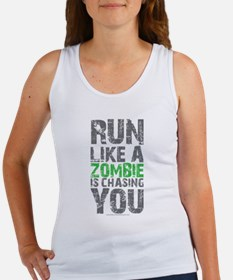 Rul Like A Zombie Is Chasing You Tank Top