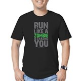 Cross country Fitted Dark T-Shirts