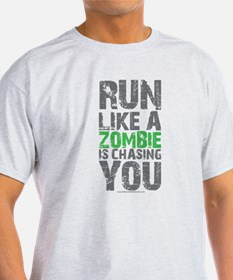 Rul Like A Zombie Is Chasing You T-Shirt