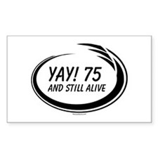 Yay! 75 Alive Decal