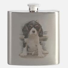 Cavalier King Charles Spaniel Flask