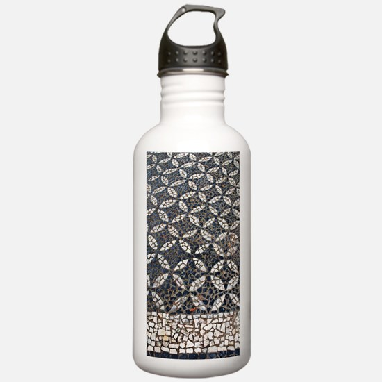 Portuguese sidewalk pa Sports Water Bottle