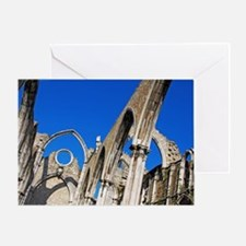 Carmo Church ruins Greeting Card